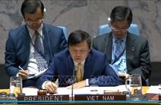越南与联合国安理会:越南主持召开也门局势公开会