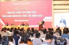 阮春福出席越共中央经济部2019年工作总结暨2020年工作部署会议