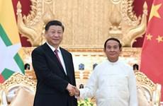 中国国家主席习近平出访缅甸
