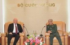 越南国防部副部长会见俄罗斯驻越大使