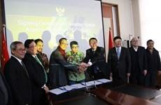 印尼和中国合作生产氧化铝