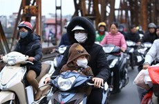 冷空气加强 越南北部遭受严寒
