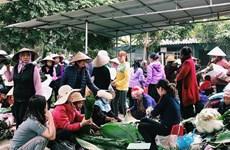 春节乡村集市