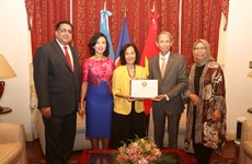 越南担任东盟驻阿根廷委员会轮值主席