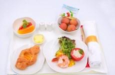 陆岸荔枝成了越航航班餐食