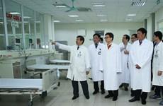 越南政府副总理武德儋检查新型冠状病毒感染的肺炎疫情的防空准备工作