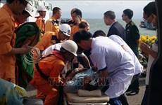 海上遇险的泰国籍船员获及时救援