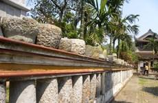 走进海阳省九品寺独特的石材博物馆