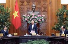 阮春福总理主持会议,指导新型冠状病毒感染的肺炎疫情防控工作