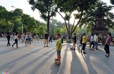 河内步行街:忘记生活烦恼的地方