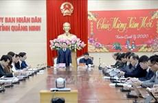 越南广宁省积极落实新型冠状病毒肺炎防控措施