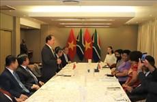南非将越南视为该国在东南亚的头等重要伙伴之一
