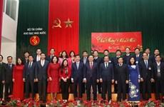 王廷惠:国家银库努力当好财政部和政府的参谋助手