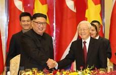 越朝建交70周年:进一步加强两国传统友好合作关系