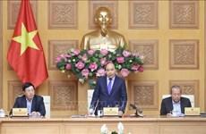 政府总理阮春福要求大力开展新冠肺炎疫情防控工作力度