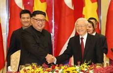 越南与朝鲜两国领导互致贺电庆祝两国建交70周年