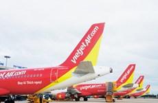 越捷航空取消往返中国的所有航班