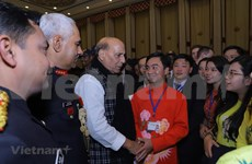 越南青年参加印度的国际交流活动