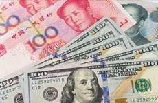 2月3日越盾对美元汇率中间价上调5越盾