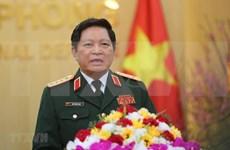 越南高级军事代表团对俄罗斯联邦进行正式访问
