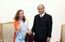 越南政府总理阮春福会见马来西亚和亚美利亚驻越大使