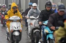 越南北部和中部以北地区出现低温严寒天气