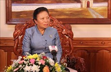 老挝中央对外部部长顺通•赛雅佳:越南共产党对革命胜利起着决定性作用