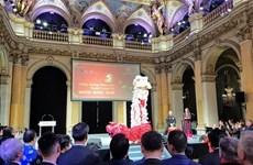 2020庚子年新年招待会在老挝和法国举行
