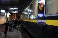 谅山省暂停国际联运列车客运服务