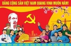 世界多国政党政要致信祝贺越南共产党建党90周年