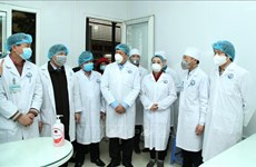 新型冠状病毒感染肺炎疫情:卫生部视察督导永福省疫情防控工作