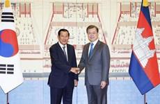 韩国与柬埔寨一致同意推进韩国与东盟和韩国与湄公河流域国家的合作关系