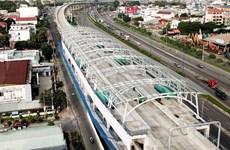 胡志明市槟城——仙泉地铁项目将于2021年底竣工