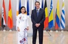 越南一向重视与塞浦路斯共和国的多方面关系
