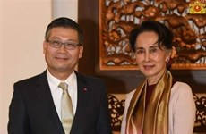 缅甸国务资政昂山素季:缅甸应学习借鉴越南的发展经验
