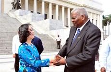 越南共产党高级代表团对古巴进行工作访问