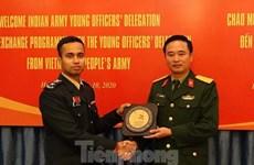 越南与印度青年军官加强经验交流