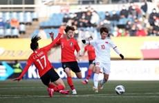 2020年东奥会女足预选赛:越南女足队败于韩国女足队 位居A组第二名