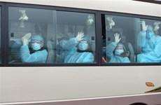 新冠肺炎疫情:30名越南公民安全回国