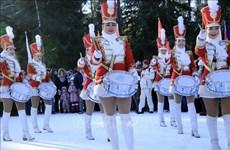 越南大使馆参加第20届俄罗斯外交使团和国际组织冬季运动比赛