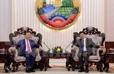 越南与老挝促进安全领域的合作