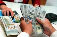 2月11日越盾对美元汇率中间价上调6越盾