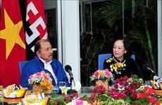 越南共产党高级代表团对尼加拉瓜进行工作访问