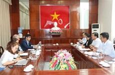 芹苴市与联合国人类住区规划署合作开展气候与能源全球协议