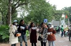 越南旅游:河内市接待游客人数逐渐恢复增长态势
