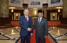 公安部长苏林访问马来西亚活动报道集