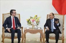 越南政府总理阮春福会见欧盟驻越代表团团长