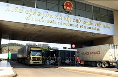 边贸出口活动受疫情影响较大 越南工贸部劝告企业限制将货物运往边界
