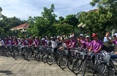 顺化市推出单车共享服务的新型旅游产品