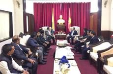 越南与印度加强贸易合作  解决农水产品出口面临的困难